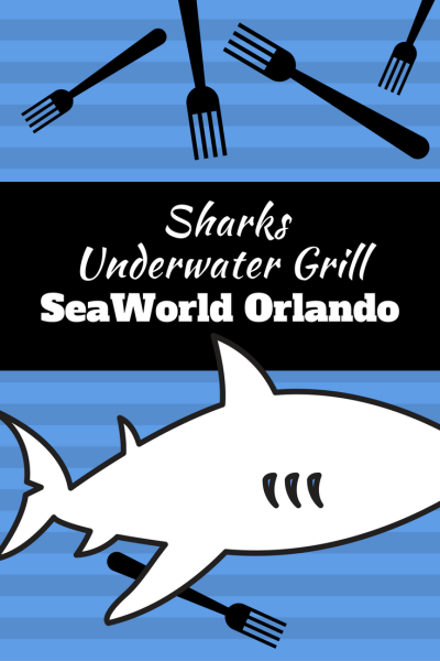 SeaWorld Orlando Sharks Underwater Grill restaurant is participating in the Magical Dining Month. Find out how to join the fun (no park ticket required!)