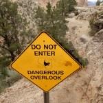 Grand Canyon Dangerous Overlook
