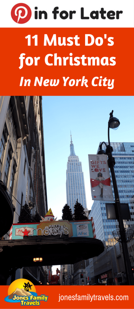 11 must do 39 s for christmas in new york city for Must do in new york