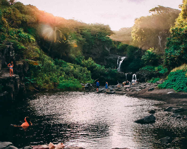 visit hawaii maui seven sacred pools