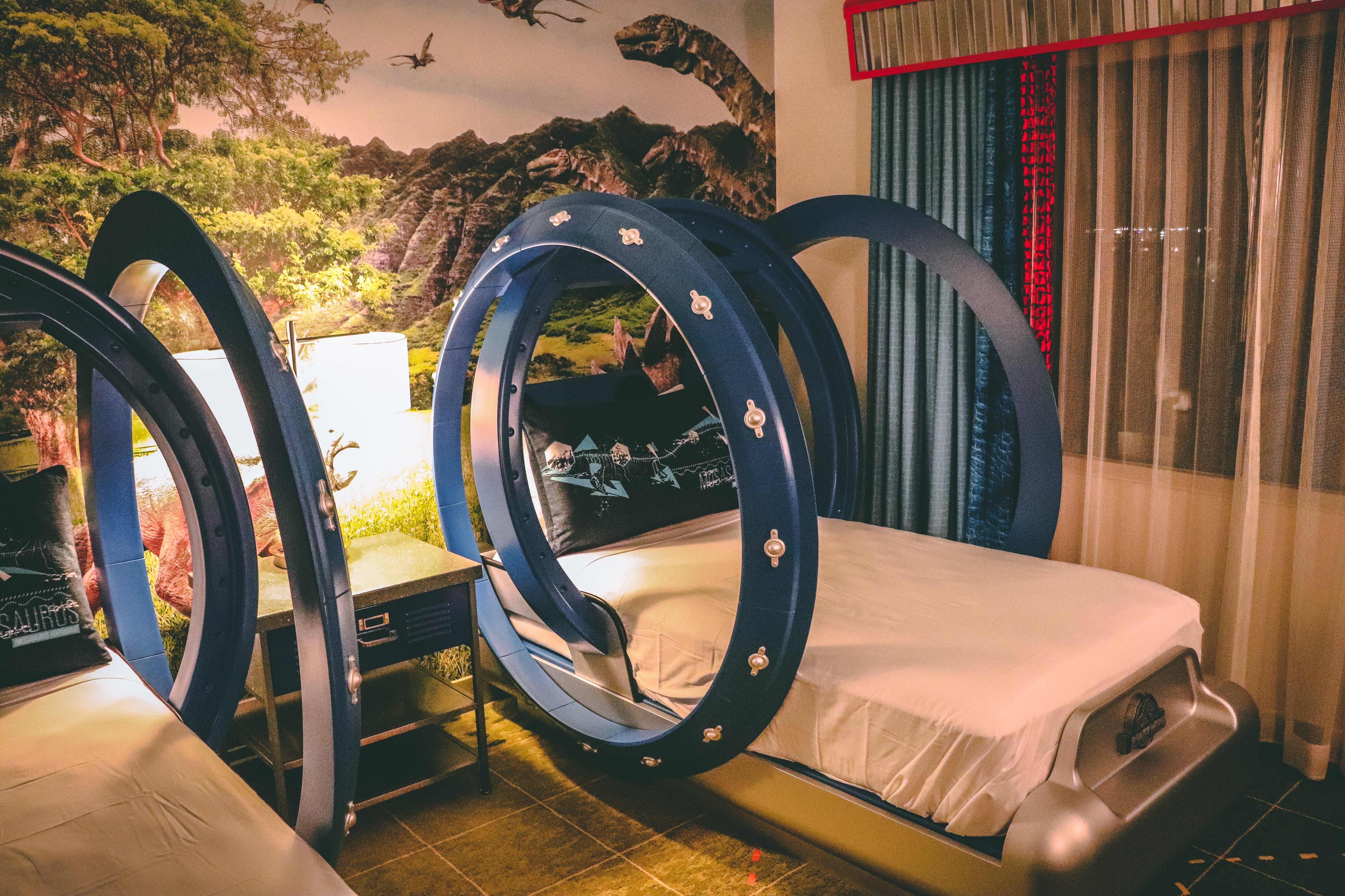 Royal Pacific Resort Room Tour Jurassic World Kids Suite
