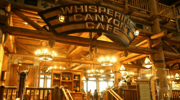 whispering canyon cafe