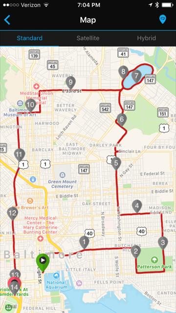 Baltimore Running Festival Race Recap  Jonesin39 For A Run