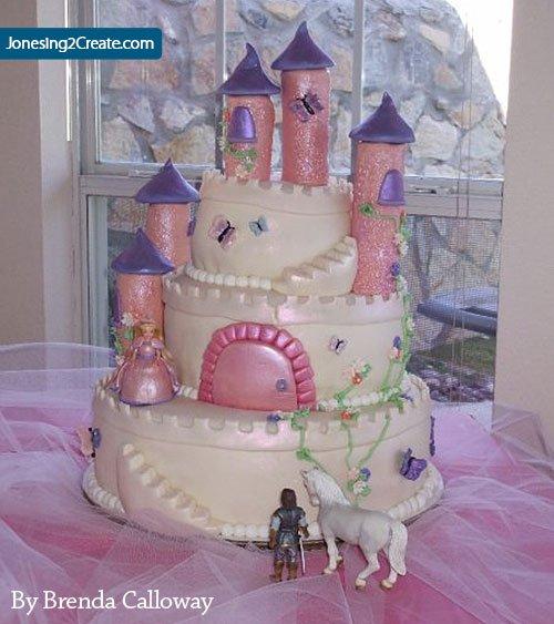 Princess Castle Birthday Cake Jonesing2create