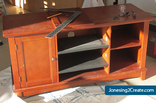 Entertainment Center Play Kitchen  Jonesing2Create