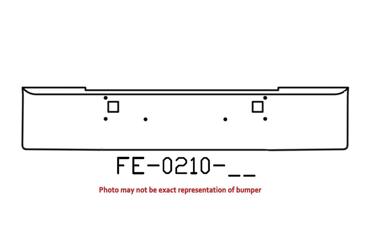 V Fe 11 Aftermarket Fits Kenworth W900l W900b Bumper