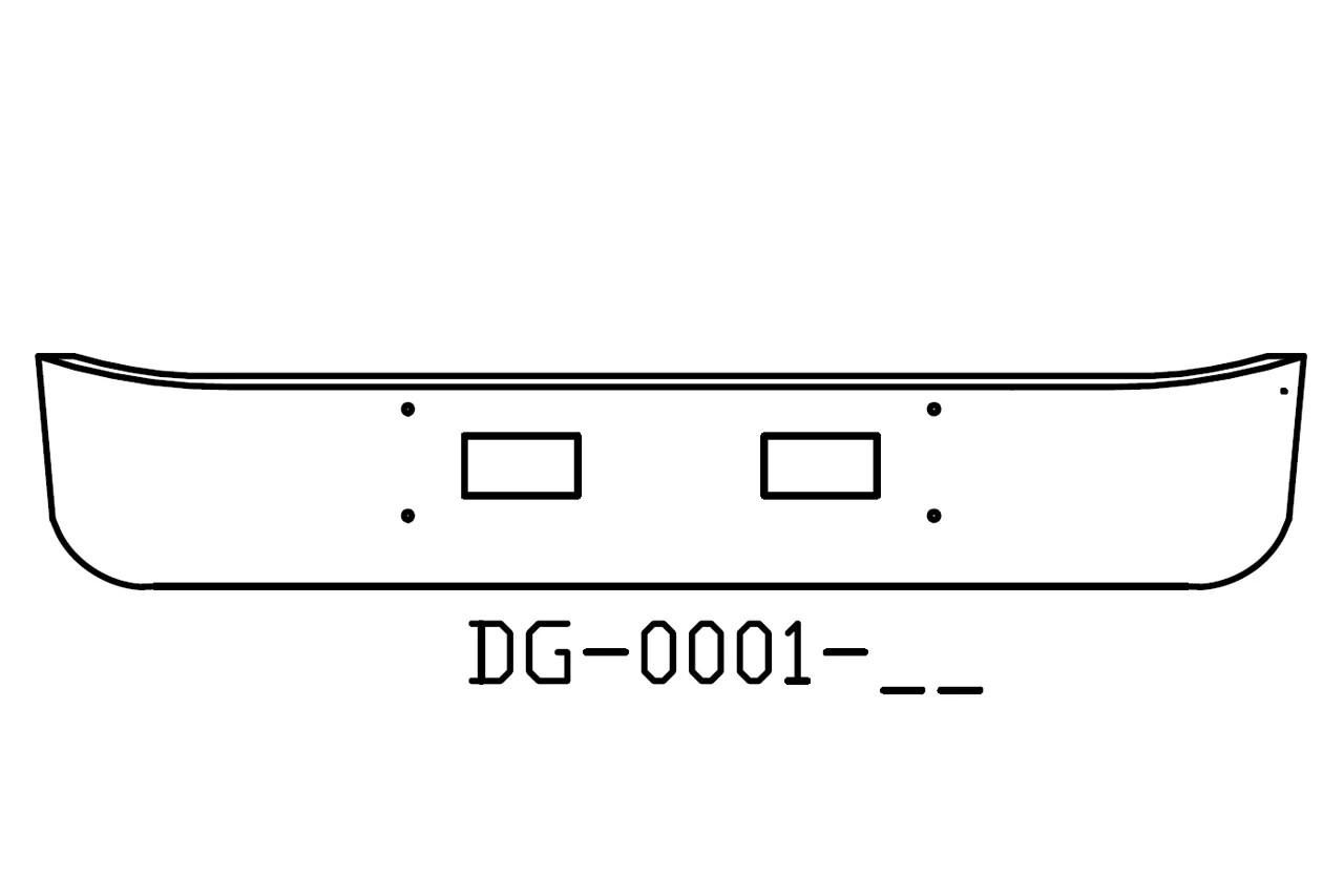 V Dg 05 Aftermarket Fits Gmc Topkick 15 Bumper