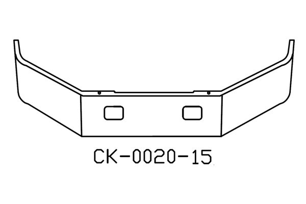 120-CK-0020-15 Aftermarket, Fits Freightliner FL50, FL60