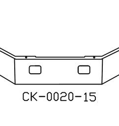 freightliner fl50 fl60 fl70 fl80 12in chrome bumper  [ 1280 x 853 Pixel ]