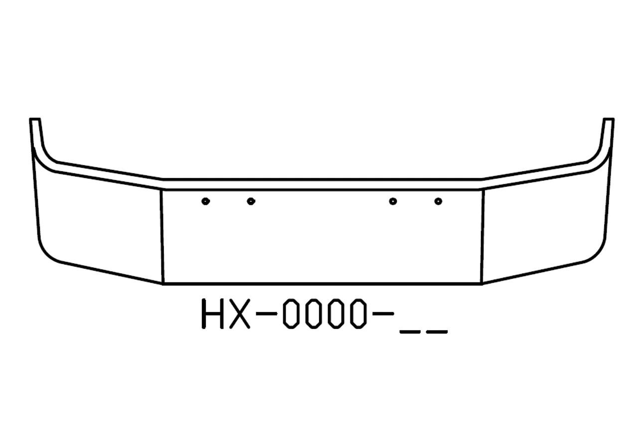 "170-HX-0000-17 Aftermarket, Fits Peterbilt 367 18"" SBA"