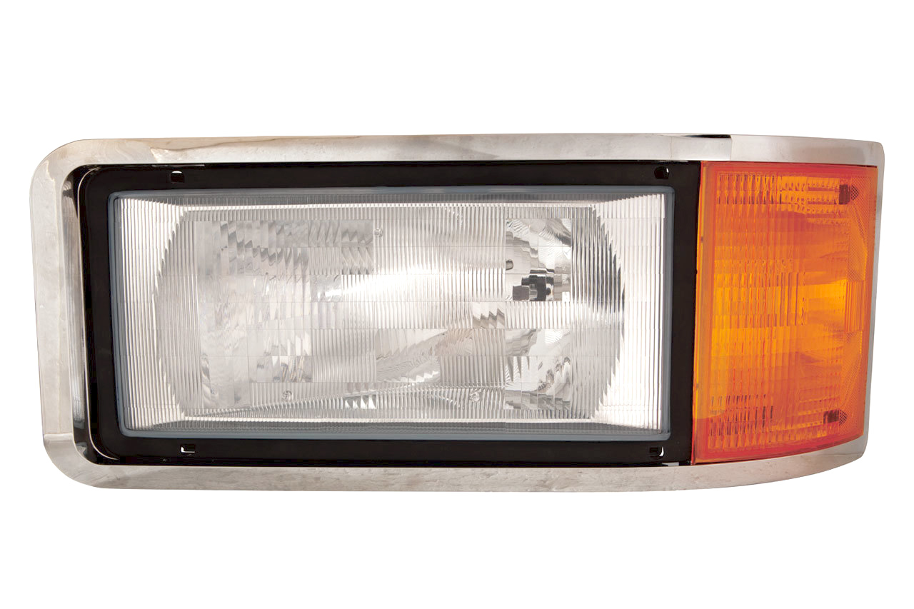 hight resolution of mack ch600 cl600 cl700 headlight assembly
