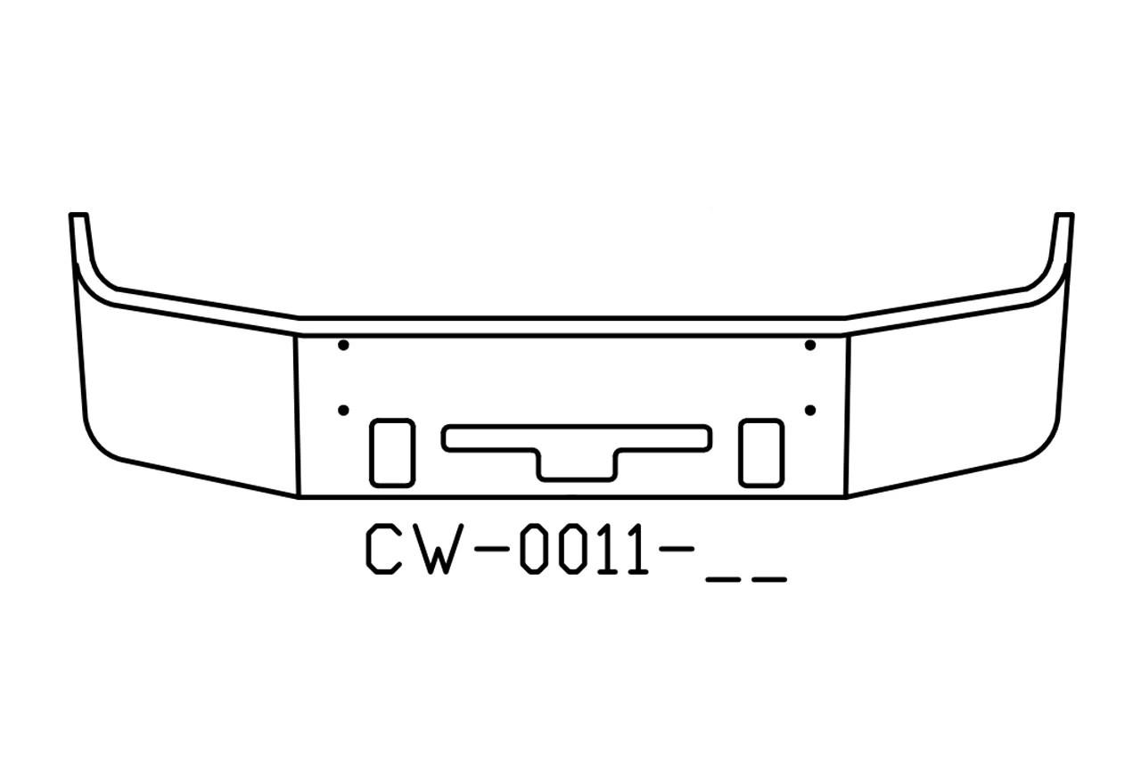 V-CW-0011-17 Aftermarket, Fits Freightliner Century