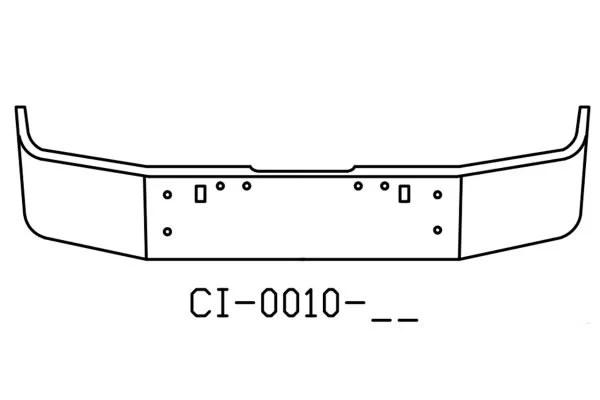 120-CI-0010-17 Aftermarket, Fits Freightliner FLD120