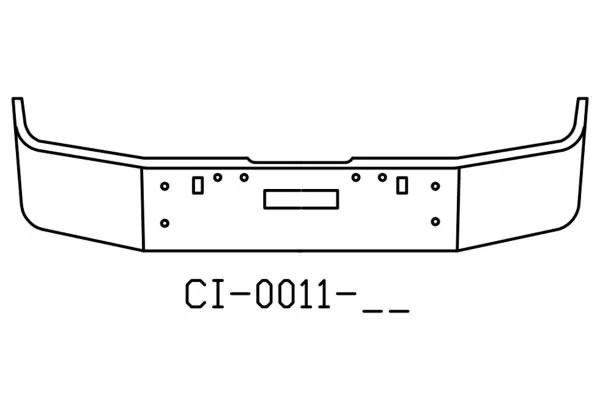 120-CI-0011-17 Aftermarket, Fits Freightliner FLD120
