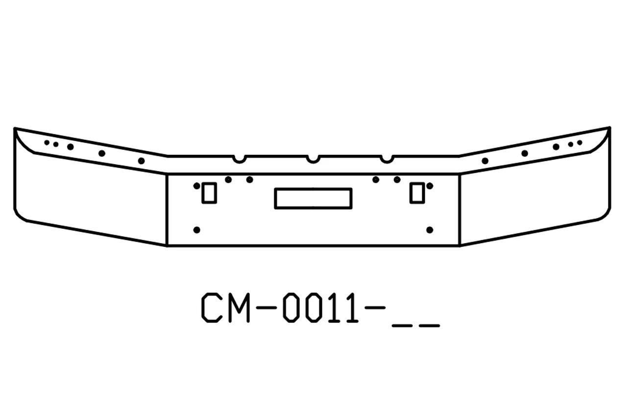 V-CM-0011-04 Aftermarket, Fits Freightliner FLD120 FLD112