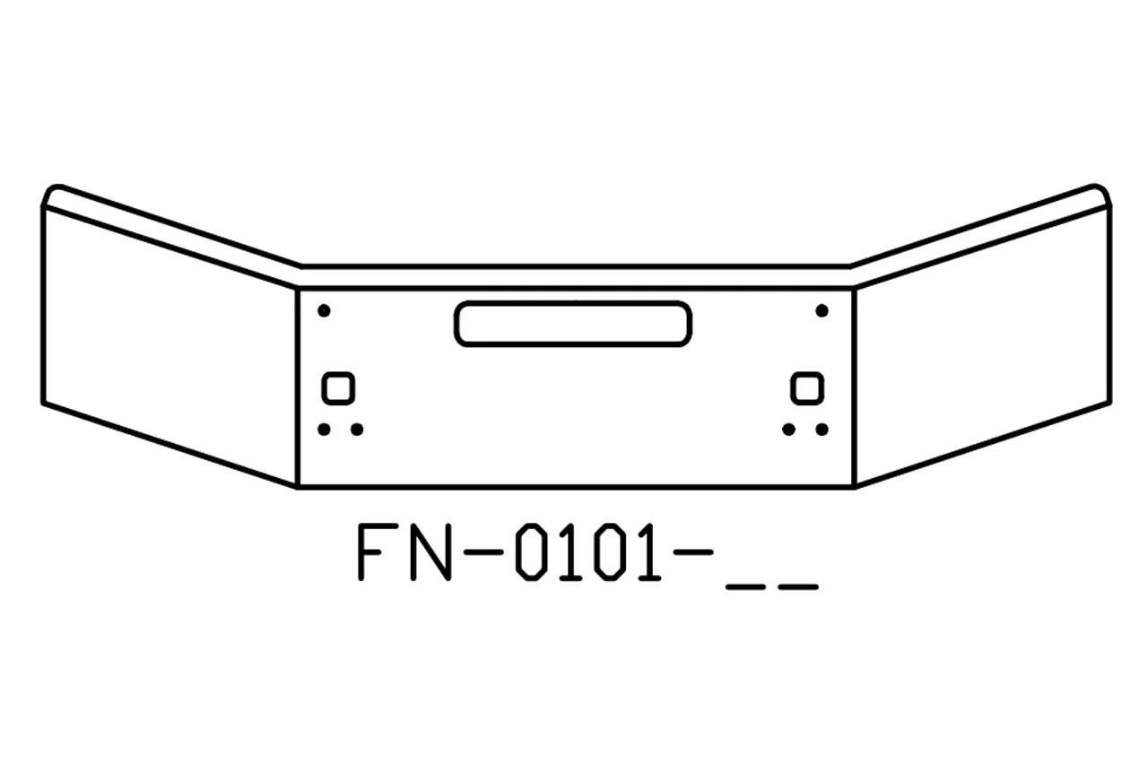 140-FN-0101-26 Aftermarket, Fits Kenworth T800B T880