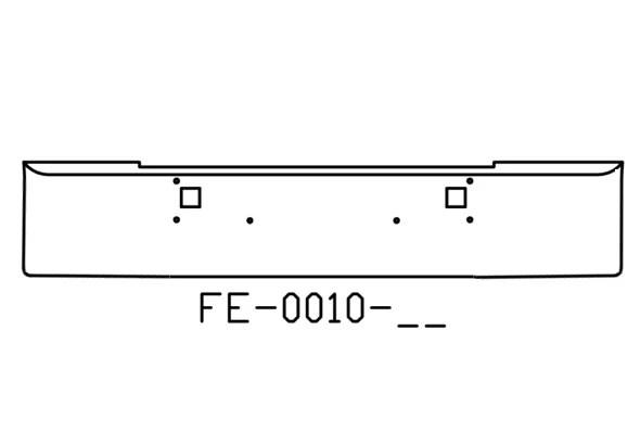 140-FE-0010-11 Aftermarket, Fits Kenworth W900L W900B