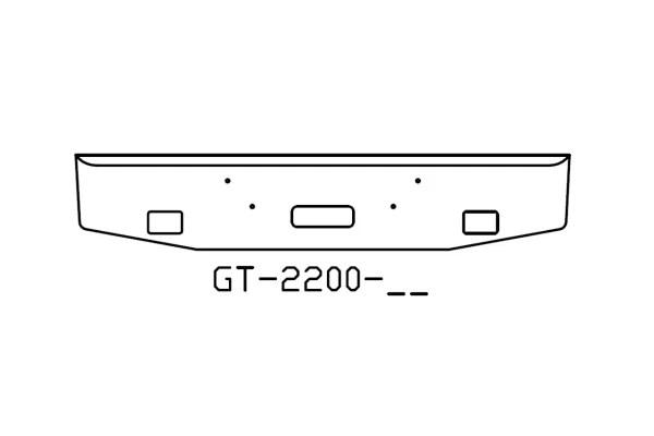 V-GT-2200-02 Aftermarket, fits Mack Granite 16
