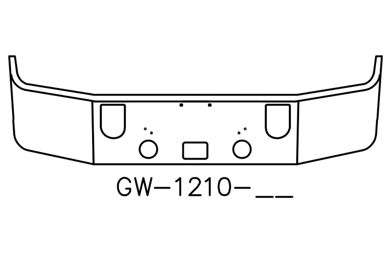 V Gw 16 Aftermarket Fits Mack Cxn613 Cxp613 16