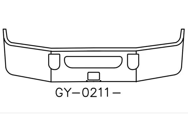 V-GY-0211-16 Aftermarket, Fits 2008 to 2016 Mack CXU613