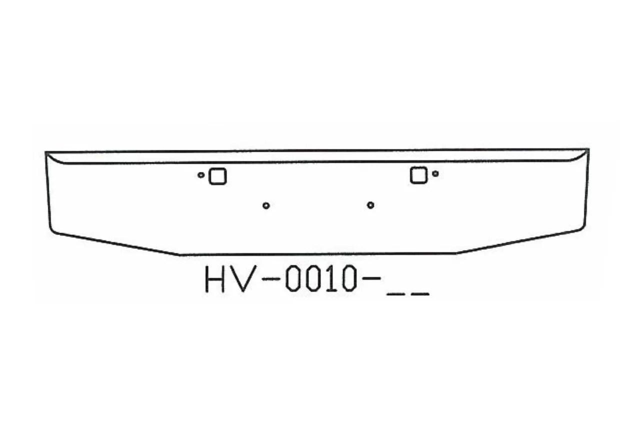V-HV-0010-06 Aftermarket, Fits 2007 & newer Peterbilt 365