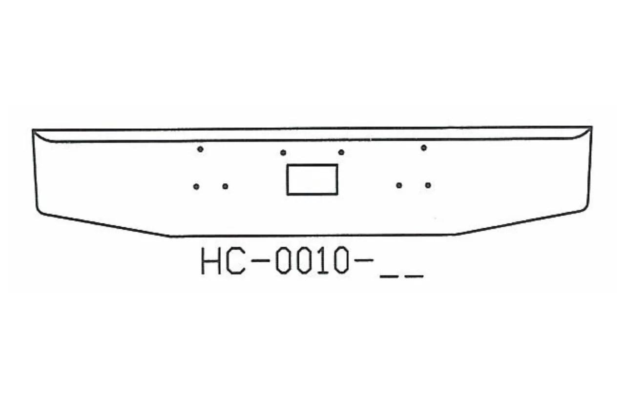170-HC-0010-73 Aftermarket, Fits 1987 to 2006 Peterbilt