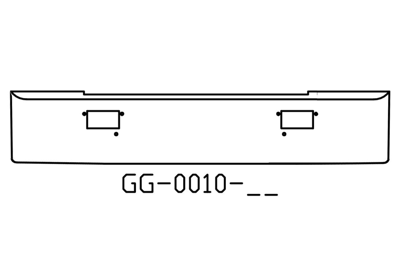 V-GG-0010-05 Aftermarket, Fits Mack MH, COE, SUPERLINER 16