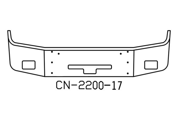 120-CN-2200-17 Aftermarket, Fits Freightliner COLUMBIA