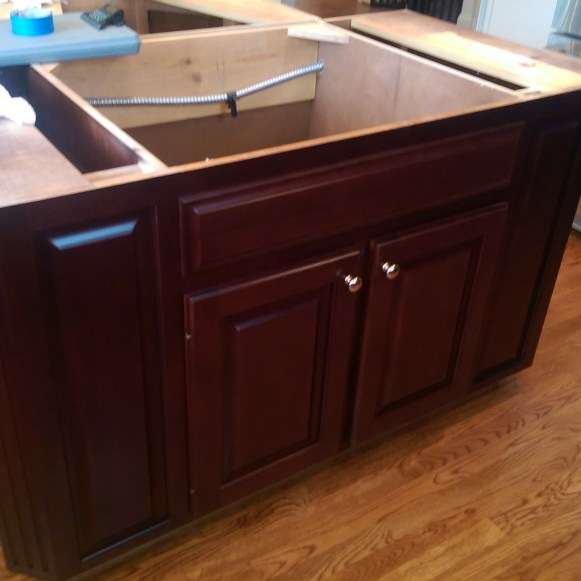 After Cabinet Refurbishing