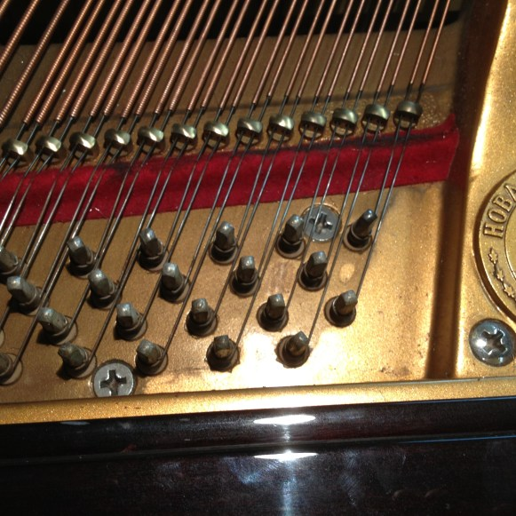 Before Piano Cleaning