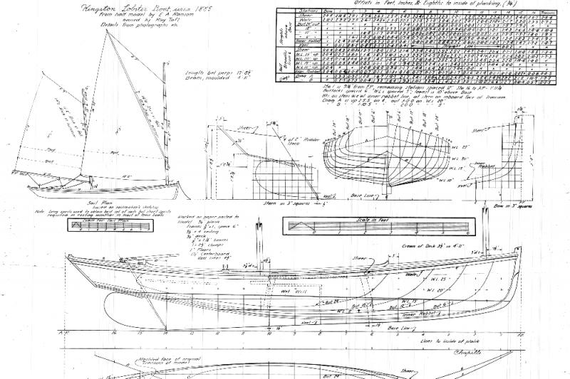 help build a kingston lobster boat   u2013 jones river landing