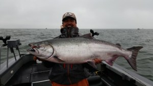 Astoria Oregon chinook samon