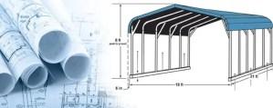 South Carolina Carports - Jones Vacuum Carpoets Blueprint