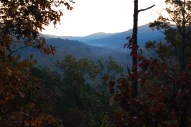 Smoky sunrise over the Valley. Fall 2008.