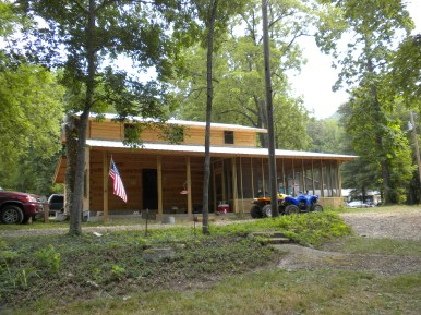 Hillbilly Cabin Ready For July 4th