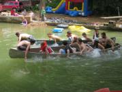 2017JUL4 canoe race