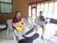 2017JUL4 cubage porch pickin