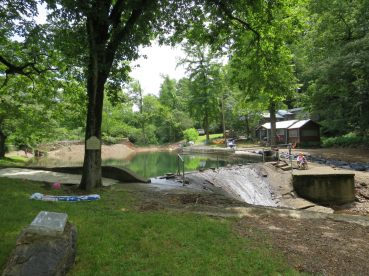 2017JUL4 swimming hole ready