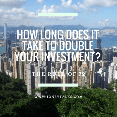 How long does it take to double your investment?