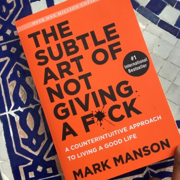 Subtle Art of Not Giving a F Book Review