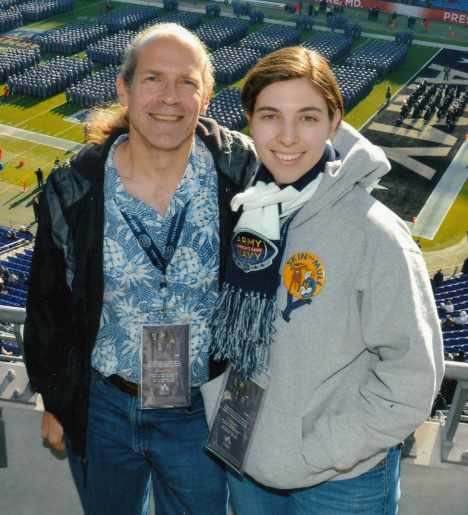 Doug Nordman Carol Pittner Army Navy game