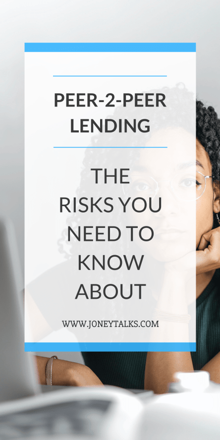 Navigate the risks of P2P lending thanks to these useful tips #P2Plending #Investing #alternativeinvestment #investingtips #checklist