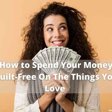 Spending Money Guilt-free happy #spending