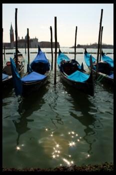 Gondoles Venise