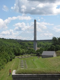 Penobscot Narrows Observatory and bridge