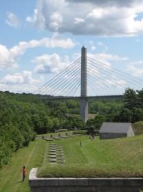 Penobscot Narrows Observatory and bridge