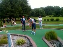 My mini golf team