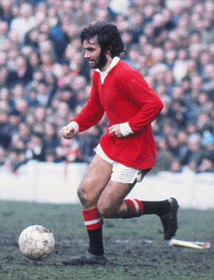"George Best. (gambar: ""The Daily Mail"")"