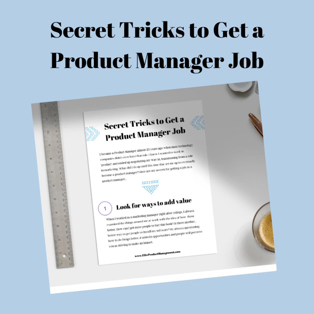Secret Tricks to Get a PM Job