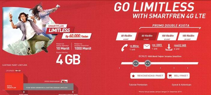 paket unlimited smartfren 4g
